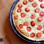 SLIK kocht: Sommerliche Tomaten-Quiche