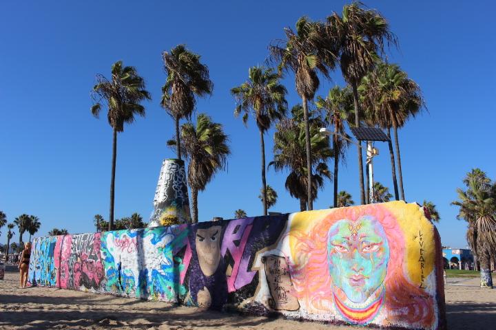 Beach Art am Venice Beach