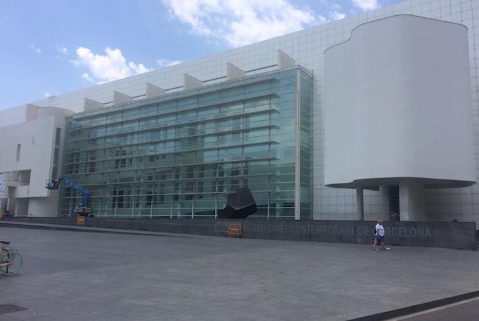 Das Museu d'Art Contemporani de Barcelona (Macba), Museum für zeitgenössische Kunst