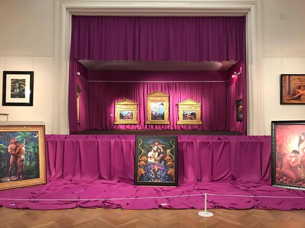 Clair obscur-Ausstellung
