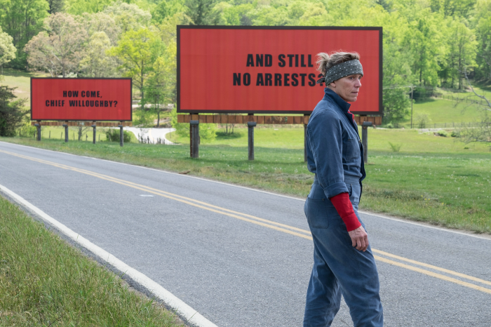 Neu auf DVD: Three Billboards Outside Ebbing, Missouri
