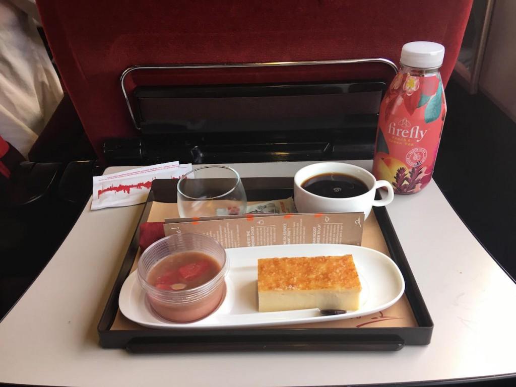 Frühstück im Thalys